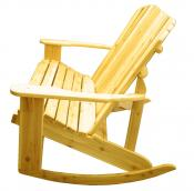 Click to enlarge image  - Adirondack Loveseat Rocker $379 - Designed for love birds with room for two to curl up in!